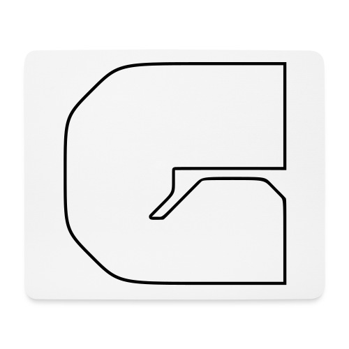 G logo lines - Mouse Pad (horizontal)