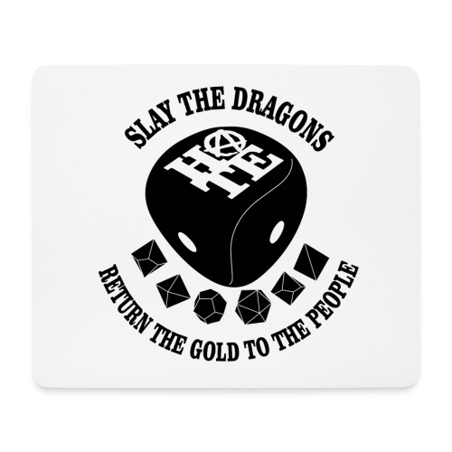 DRAGONS W - Mouse Pad (horizontal)