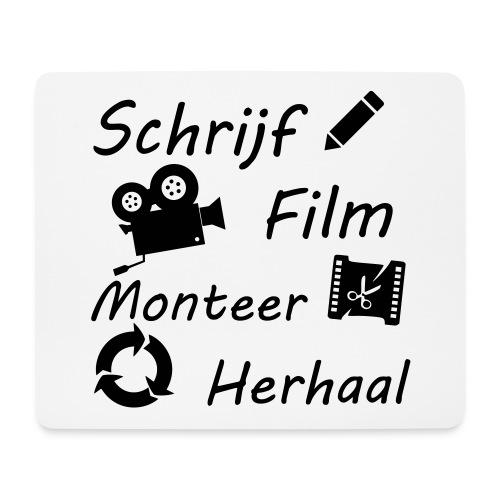 Proces van film maken - Muismatje (landscape)
