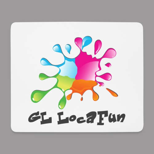 LOGO GL LOCAFUN SANS FOND png - Tapis de souris (format paysage)