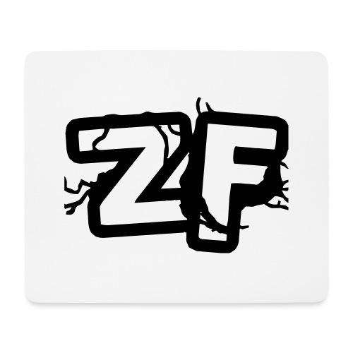 Zckrfrk BLACK Edition - Mousepad (Querformat)