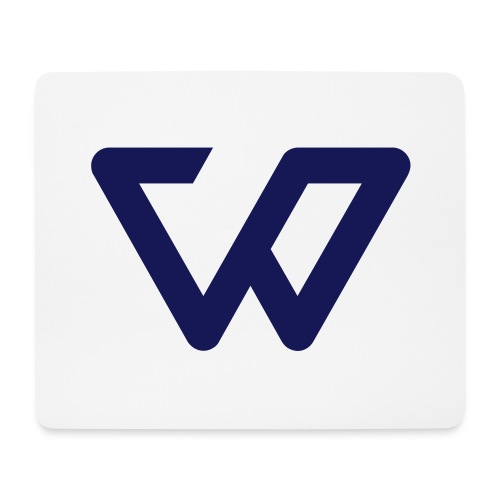 white weamer icon - Mousepad (Querformat)