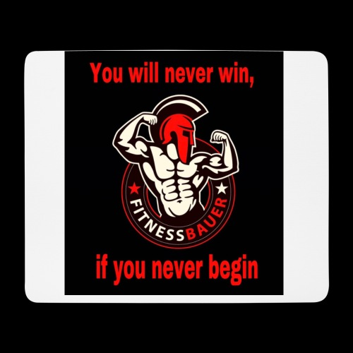 You will never win - Mousepad (Querformat)