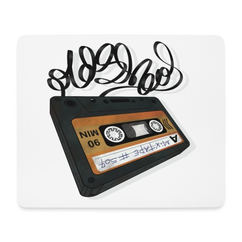 Oldschool Mixtape 507 - Mousepad (bredformat)