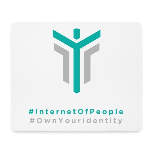 #InternetOfPeople #OwnYourIdentity - Mouse Pad (horizontal)