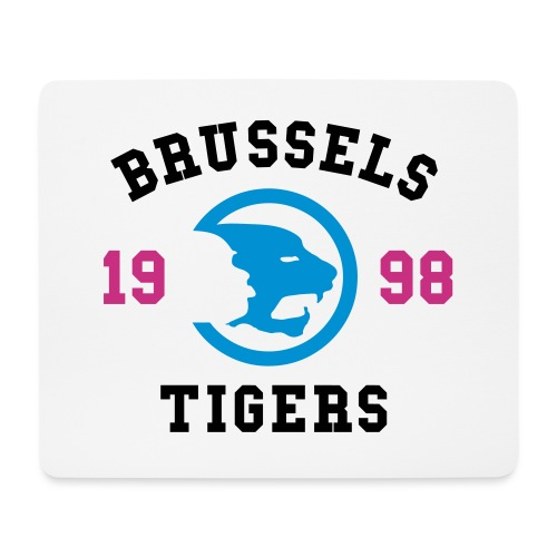 BrusselsTigers 1998BlackC - Mouse Pad (horizontal)