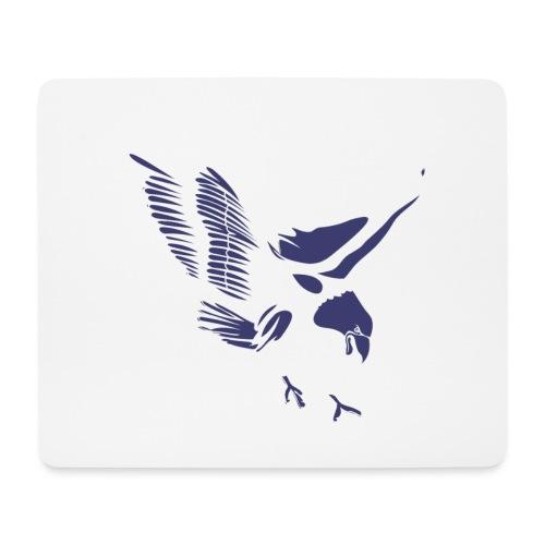 Aquila blu ed accessori - Tappetino per mouse (orizzontale)
