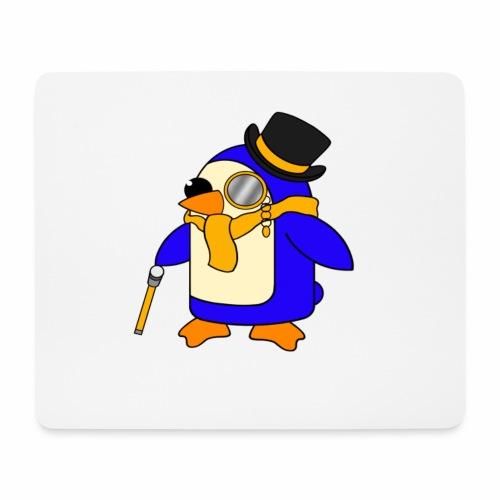 Cute Posh Sunny Yellow Penguin - Mouse Pad (horizontal)