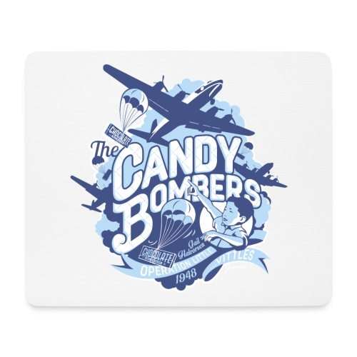 Candy Bombers Tribute - Mousepad (Querformat)