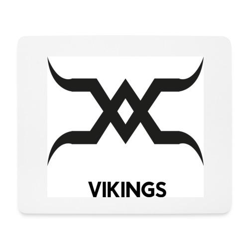 Vikings Logo - Tapis de souris (format paysage)