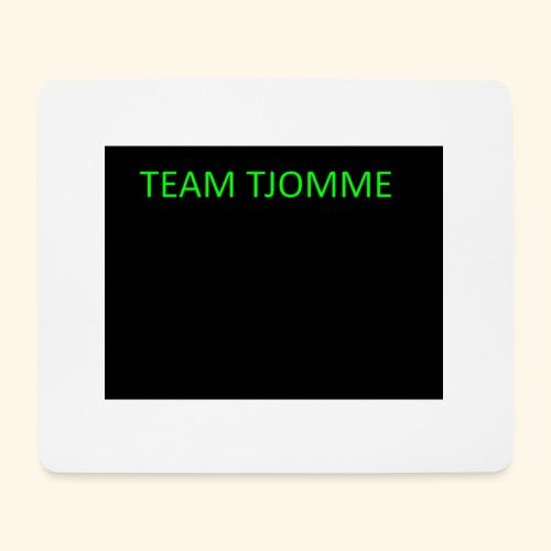 TJOMME logga - Musmatta (liggande format)