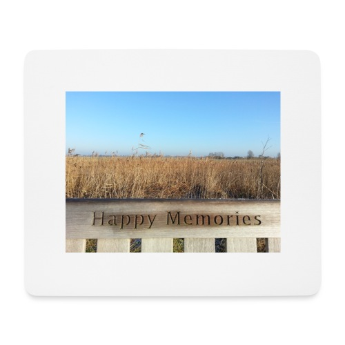 Happy Memories - Mouse Pad (horizontal)