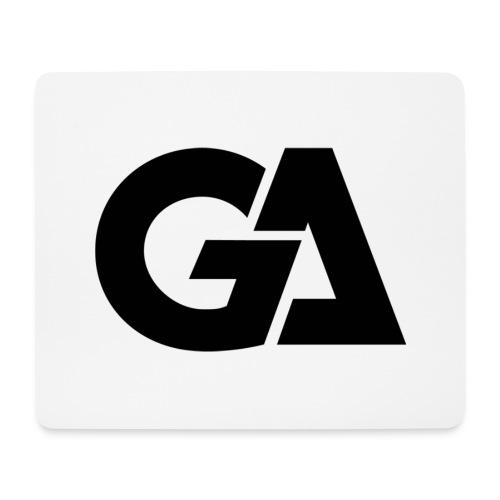 GA Zwart Logo Merch - Muismatje (landscape)