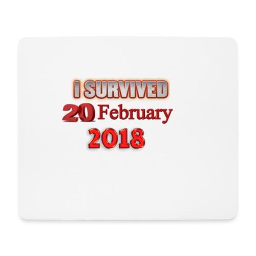 I survived february 20th text - Hiirimatto (vaakamalli)