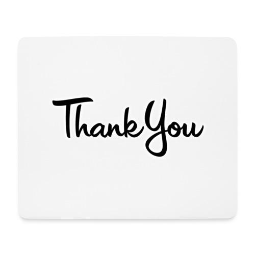Logo Thank You - Tapis de souris (format paysage)