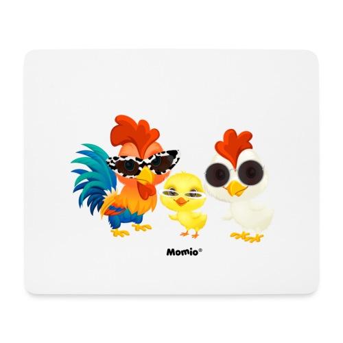 Kurczak - autorstwa Momio Designer Emeraldo. - Podkładka pod myszkę (orientacja pozioma)