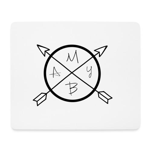 May-B arrow logo - Mouse Pad (horizontal)