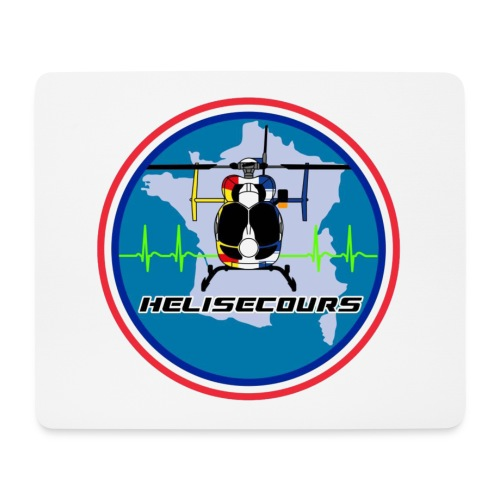 Helisecours - Tapis de souris (format paysage)