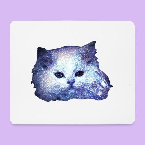 Gatto glitter - Tappetino per mouse (orizzontale)