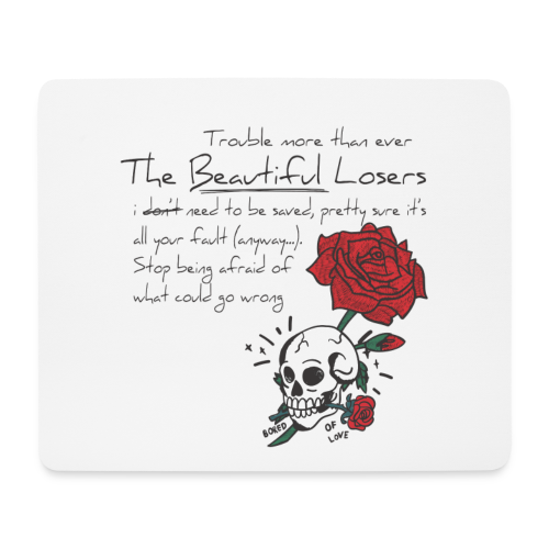 The Beautiful Loosers - Mouse Pad (horizontal)