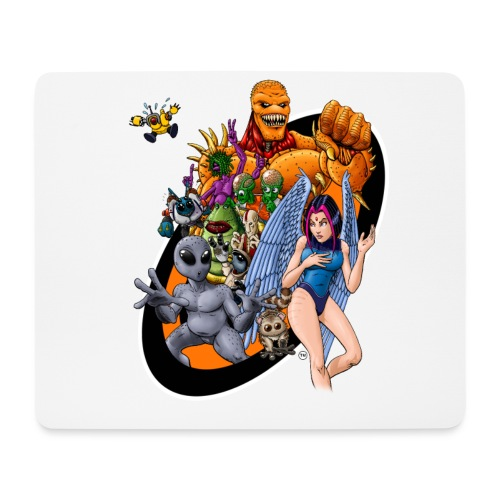 Startopia Character Emblem - Mouse Pad (horizontal)