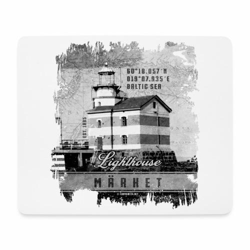 Märket majakkatuotteet, Finland Lighthouse, Harmaa - Hiirimatto (vaakamalli)
