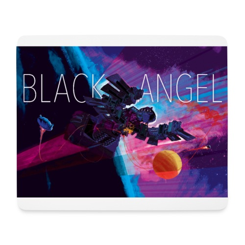 BLACK ANGEL COVER ART - Tapis de souris (format paysage)