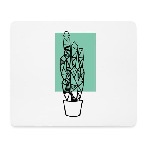 Kleiner Designer Kaktus - Mousepad (Querformat)