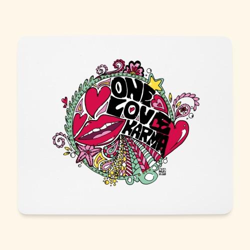 love - Alfombrilla de ratón (horizontal)