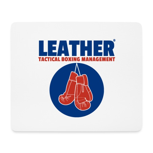 The LEATHER® Complete Logo - Vertical - Mouse Pad (horizontal)