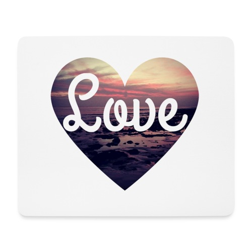 Love - Mouse Pad (horizontal)
