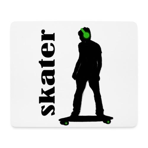 skater green copia - Alfombrilla de ratón (horizontal)