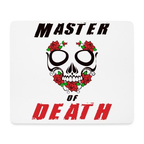 Master of death - black - Podkładka pod myszkę (orientacja pozioma)