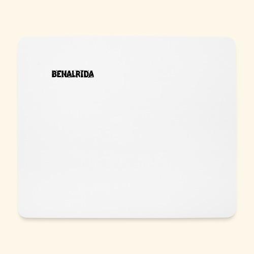 BenalRida HD black png - Alfombrilla de ratón (horizontal)