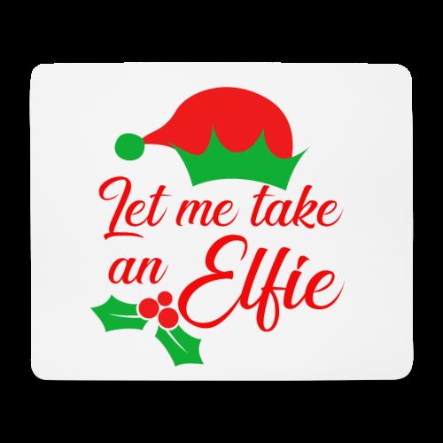 Weihnachten   Elf Mütze Weihnachtself Wortspiel - Mousepad (Querformat)