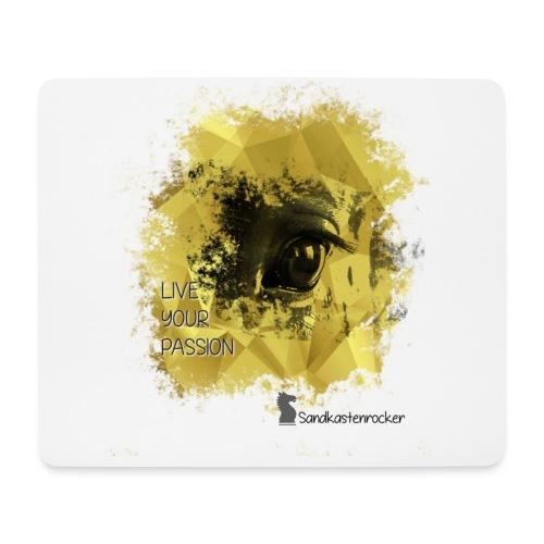 Live your Passion Sandkastenrocker - Mousepad (Querformat)
