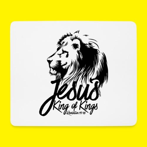 JESUS - KING OF KINGS - Revelations 19:16 - LION - Mouse Pad (horizontal)