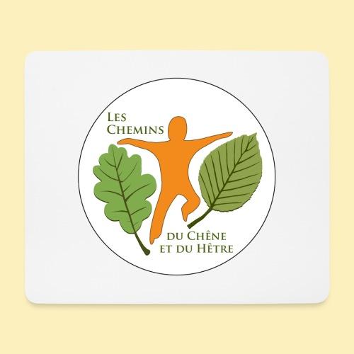 Logo des Chemins du Chêne et du Hêtre - Tapis de souris (format paysage)