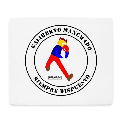 Galiberto Manchado - Alfombrilla de ratón (horizontal)