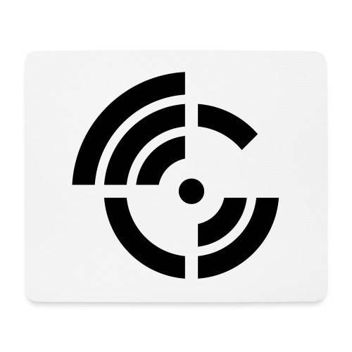 electroradio.fm logo - Mouse Pad (horizontal)
