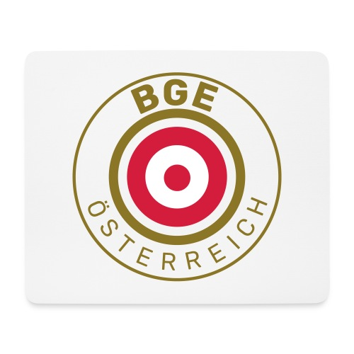 BGE in Österreich mit Fahne - Mousepad (Querformat)
