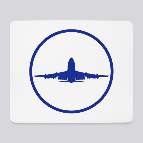 IVAO (symbole bleu) - Tapis de souris (format paysage)