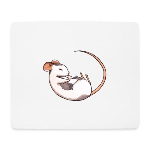 Sleeping mouse - Mouse Pad (horizontal)