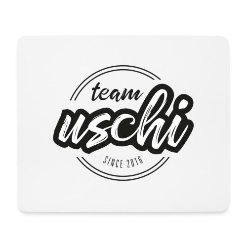 Team Uschi Schwarz original - Mousepad (Querformat)