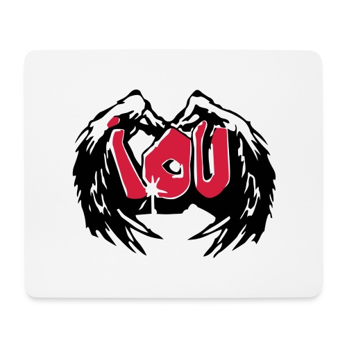 IOU - I owe you - Mousepad (Querformat)