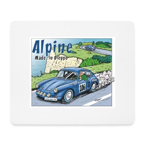 Polete en Alpine 106 - Tapis de souris (format paysage)