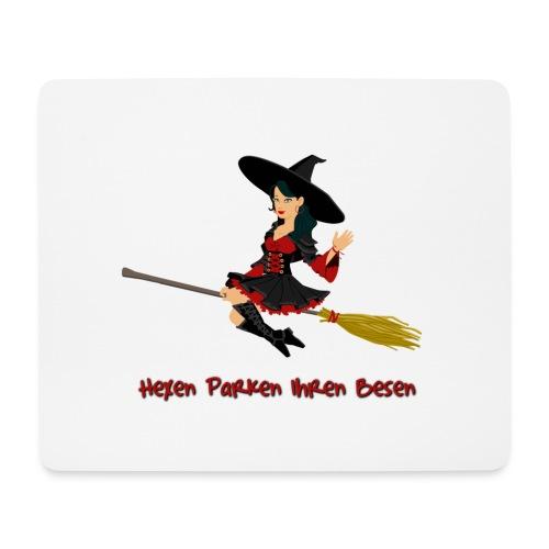 Hexen Parken Ihren Besen - Mousepad (Querformat)