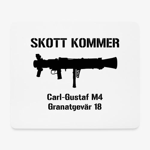 Skott Kommer CGM4 - Musmatta (liggande format)
