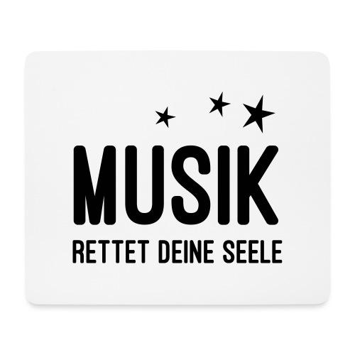Musik rettet Deine Seele - Mousepad (Querformat)