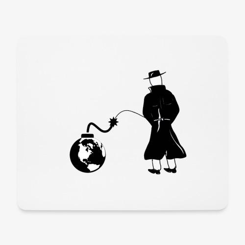 Pissing Man against economic self-destruction - Mousepad (Querformat)